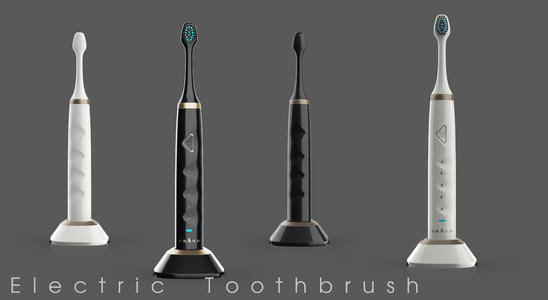 Smart toothbrush solution based on Airoha AB1611 Bluetooth sp02 blood oxygen / blood pressure / heart rate